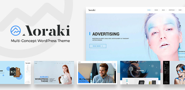 Aoraki: Multi-Concept Business WordPress Theme